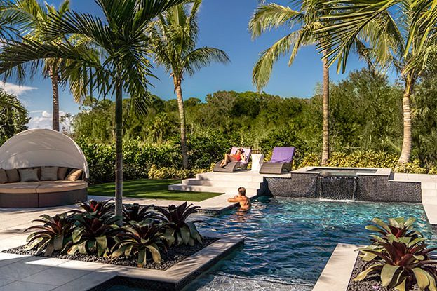 Artistry Palm Beach Backyard Pool