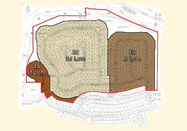 Bridgetowne Forsythe County GA Site Plan
