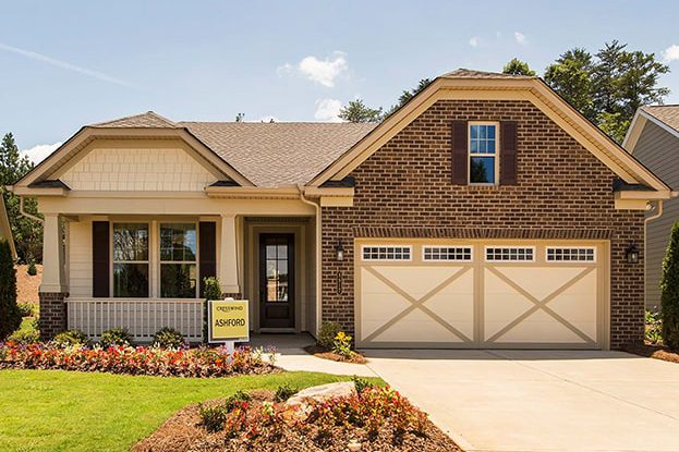 Cresswind Charlotte Exterior of Model Home