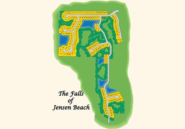 Falls of Jensen Beach Jensen Beach FL Site Plan