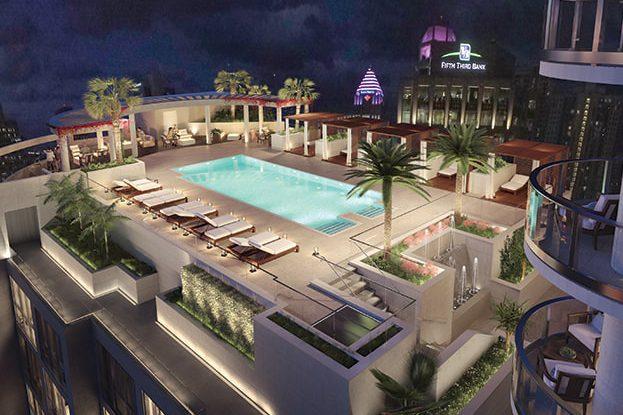 100 Las Olas Rooftop Pool