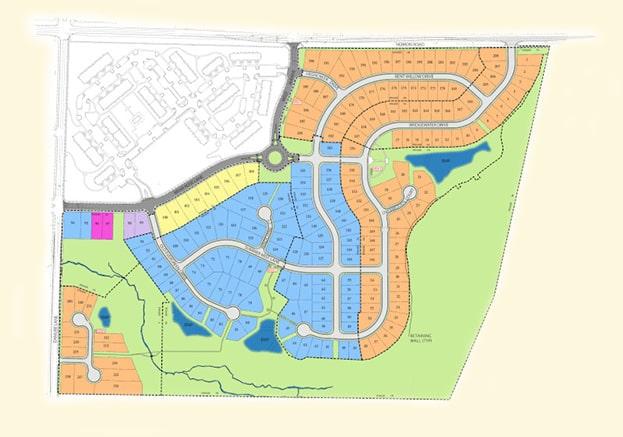 Magnolia Creek Durham NC Site Map
