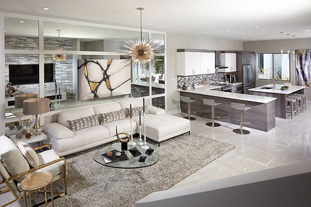 Moderne Boca Interior Rendering