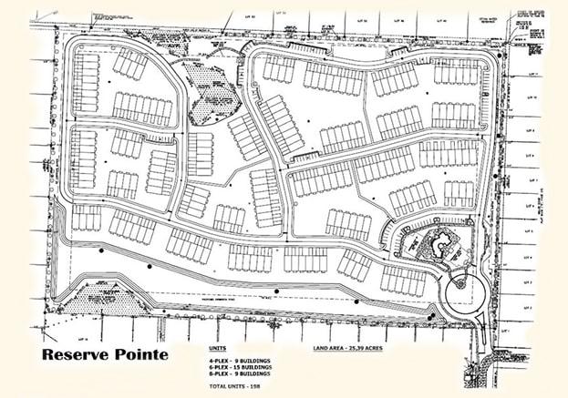 Reserve Pointe Navarre FL Site Plan