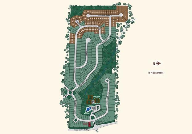 Stonehaven Pointe Cumming GA Site Map