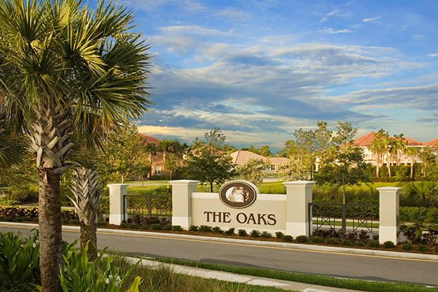 The Oaks Entrance