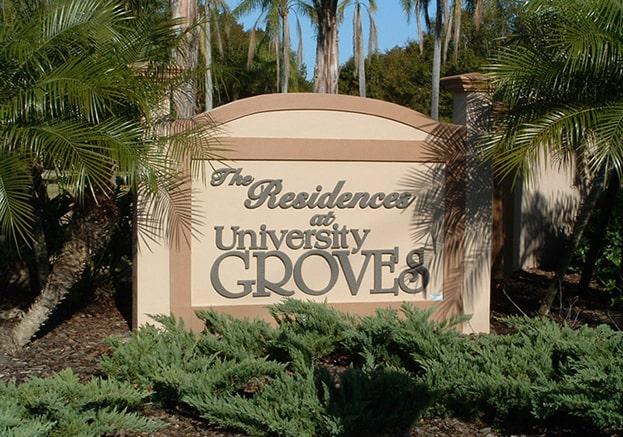 University Groves Sarasota FL Townhomes