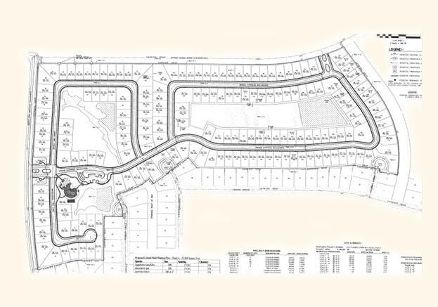 Villas at Charleston Site Plan