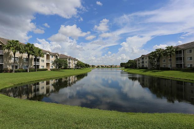 Lake at San Michele Andros Isles in West Palm Beach, a Kolter Group Property