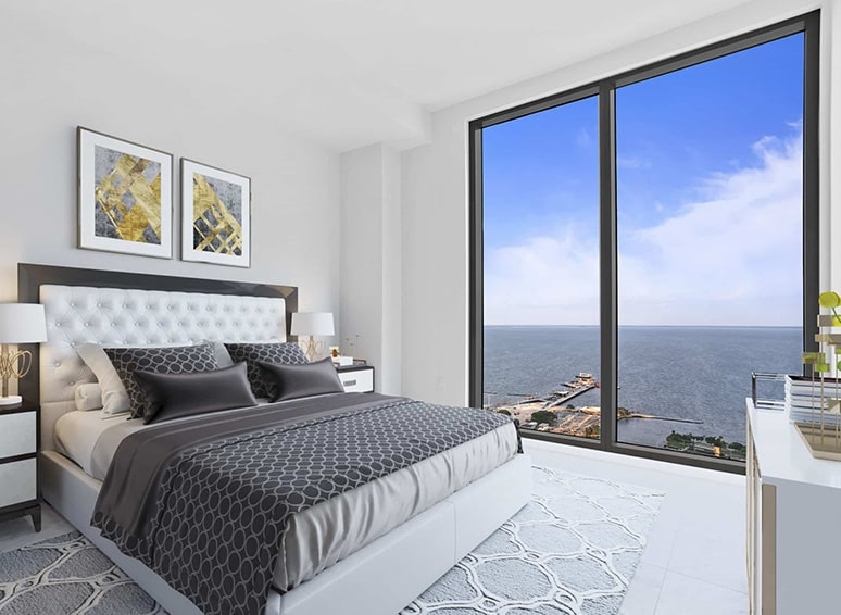 Bedroom Room with Ocean View