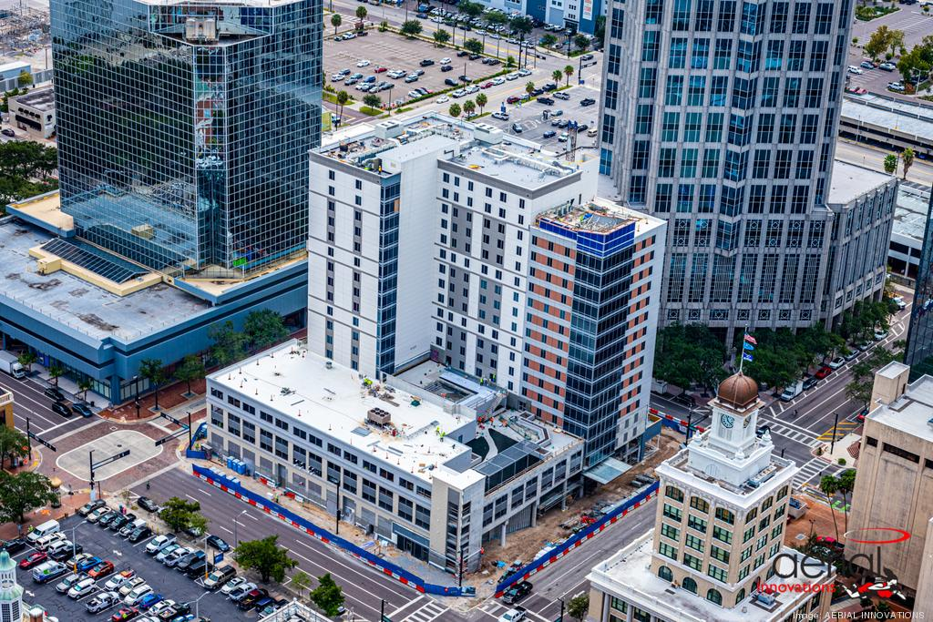 Hotel Construction downtown Tampa