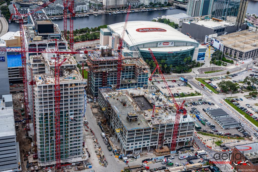 511-unit Apartment Building Under Construction