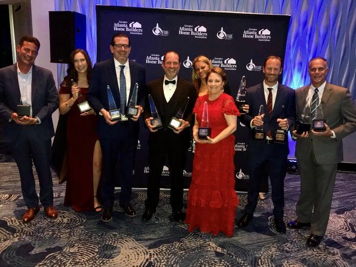 kolter team at OBIE Awards