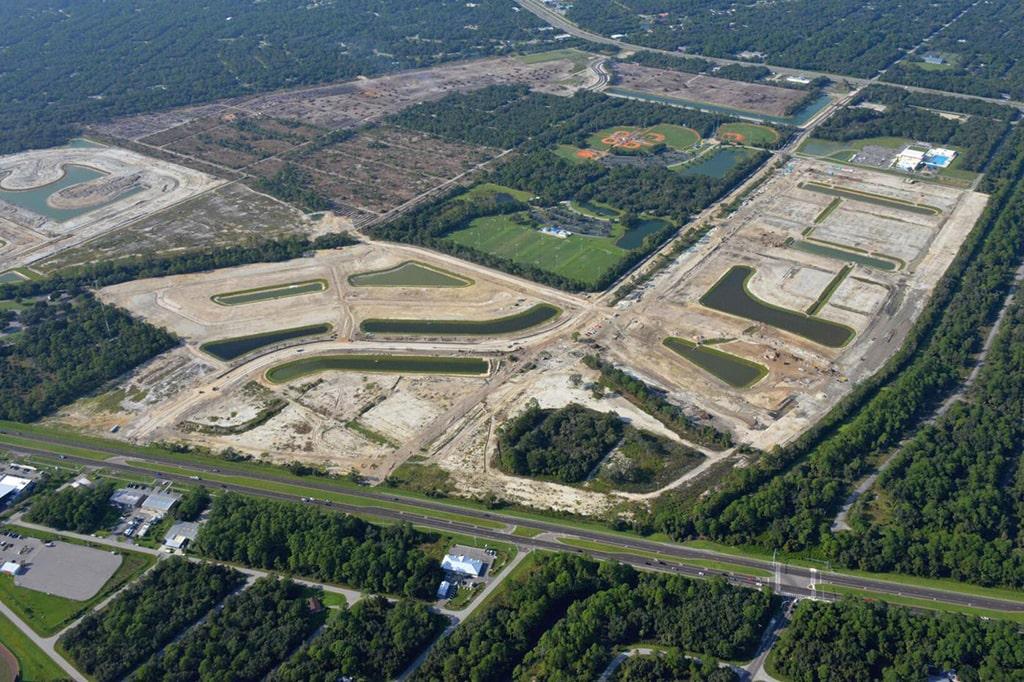 West Port Construction Aerial