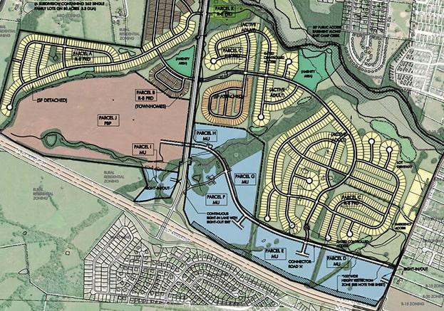 master site plan of nexus tennesse